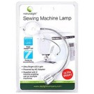 """Flexible Arm (7"""") Daylight LED Sewing Machine Lamp, includes 2 Mounts (Powered by AC Adapter)"""