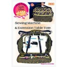 Sewing Machine and Extension Table Tote Pattern by Among Brenda's Quilts & Bags