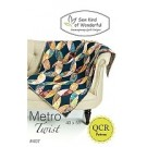Metro Twist Quilt Pattern using the Quick Curve Ruler (item: SKW100)