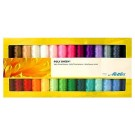 Mettler Gift Pack - 28 Spools of Embroidery Thread, 200m