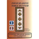 Four Seasons Table Runner Pattern by Lidia K. Froehler of A Cotton Treasure Design