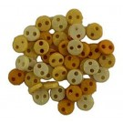Sunshine Micro Buttons, 4mm, 40 count