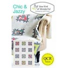 Chic & Jazzy Quilt Pattern using the Quick Curve Ruler (item: SKW100)