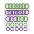Soft Stitch Ring Markers, 30 Count