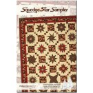 "Squedge Star Sampler Quilt Pattern by Phillips Fiber Art using the 12"" Squedge 45 & 22.5 Set"