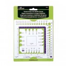 Clover Swatch Ruler & Gauge, 3 Each