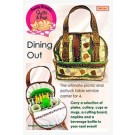 "Dining Out Carrier - Medium Size Bag Pattern (13"" W x 14"" H x 6"" D) by Among Brenda's Quilts & Bags"