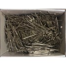 Bulk Pins, Nickel Plated, 500G/Box, 38mm X 0.90mm