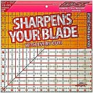 """Sullivans Cutting Edge CLEAR Rulers, Non-Skid& Sharpens Your Blade, 12.5"""" x 12.5"""""""