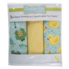 "Babyville Pul Fabric Package, Playful Pond And Ducks - 21"" x 24"" (53.30cm x 61cm), 3ct."