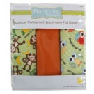 "Babyville Pul Fabric Package, Playful Friends Monkey & Dot - 21"" x 24"" (53.30cm x 61cm), 3ct."