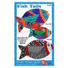 Fish Tails  Placemat & Hot Pad Pattern by Wonder Woman Quilts