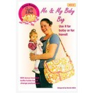 "Me and My Baby Diaper Bag (21.75 W x 12.75"" H x 5.75"" D) by Among Brenda's Quilts & Bags"
