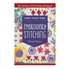 Embroidery Stitching Handy Pocket Guide Compiled By Christen Brown