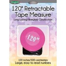 "Sullivan's 120"" Retractable Tape Measure, Pink"