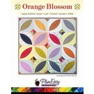 PlumEasy Patterns Orange Blossom Quilt Pattern: Table Topper/Baby/Throw/Twin/Queen - 50% OFF!