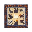 Buster Cat Does Halloween Quilt Pattern by Judi Maxwell