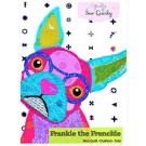 Frankie the Frenchie Mini-Tote-Cushion Pattern by Sew Quirky