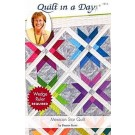 Mexican Star Quilt Pattern by Quilt In A Day