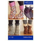 Bedtime Boots Pattern by Indygo Junction