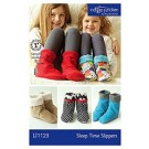 Sleep Time Slippers Pattern by Indygo Junction
