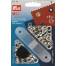 Prym Nickel Eyelets With Washers, 5.5mm, 40pc.