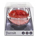 The Yarnit Crystal Clear Yarn Globe (Protects Your Yarn & Keeps It From Rolling Away!)