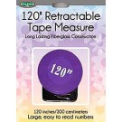 "Sullivan's 120"" Retractable Tape Measure, Purple"