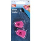 Needle Grabbers, Silicone, Pink, 2 count - M+L
