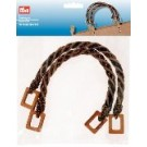 Rope Handles Brown 48cm