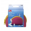 Prym Travel Box Sewing Set/Kit, Medium - Pink/Yellow