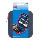 Prym Denim Sewing Kit with a Zip Fastener - Pink