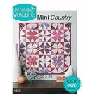 Mini Country Quilt Pattern using the QCR Mini Ruler (item: SKW098)