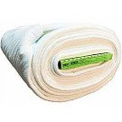 "80/20 Bleached Cotton/Polyester Blend Batting with Scrim Binder (Fold in Board), 96"" x 9 Yards (244cm x 8.22M)"