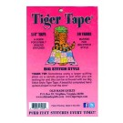 "Tiger Tape, Big Stitch Style, 1/4"" Tape x 30 Yards"