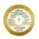 Clover Quick Bias Tape, Gold, 10 Meters, 1/4""