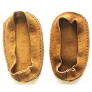 Soul Comfort - Leather Slipper Soles, Child Size 3, Tan
