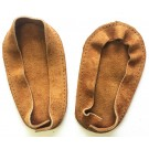 Soul Comfort - Leather Slipper Soles, Child's Size 5, Tan (ON SALE - 25%)