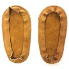 Soul Comfort - Leather Slipper Soles, Child Size 9, Tan (ON SALE - 25% OFF!)