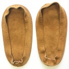 Soul Comfort - Leather Slipper Soles, Child Size 11, Tan