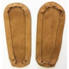 Soul Comfort - Leather Slipper Soles, Youth Size 4, Tan