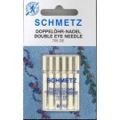Schmetz Double Eye Needles size 80/12, 5 count