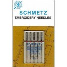 Schmetz Embroidery Needles, 5 Count, Size 75