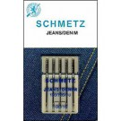 Schmetz Denim/Jeans needles, 5 count, size 100