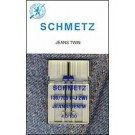 Schmetz Denim/Jeans Twin Needle, 1 count, size 4/100
