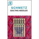 Schmetz Quilting Needles, 5 count, assorted size 75, 90