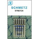 Schmetz Stretch Needles, 5 count, size 90