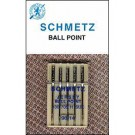 Schmetz Ball Point Needles, 5 count, size 100