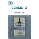 Schmetz Twin Stretch Needle, 1 Count, Size 2.5/75