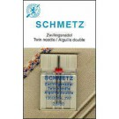 Schmetz Twin Needle, 1 count, size 8.0/100